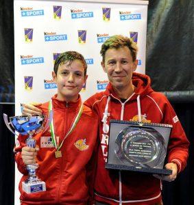 Alessandro e Igor alla premiazione
