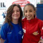 Sara Andalò e Sofia Freschi 3° class. Allieve